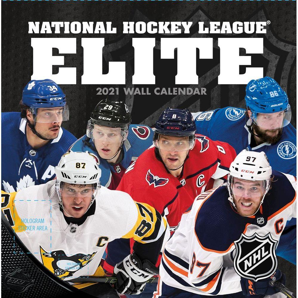 2021 NHL All Stars Mini Wall Calendar