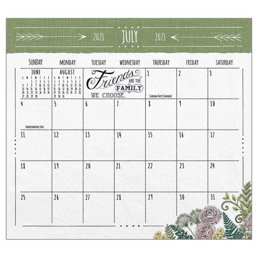 2021 Family Matters Magnetic Calendar