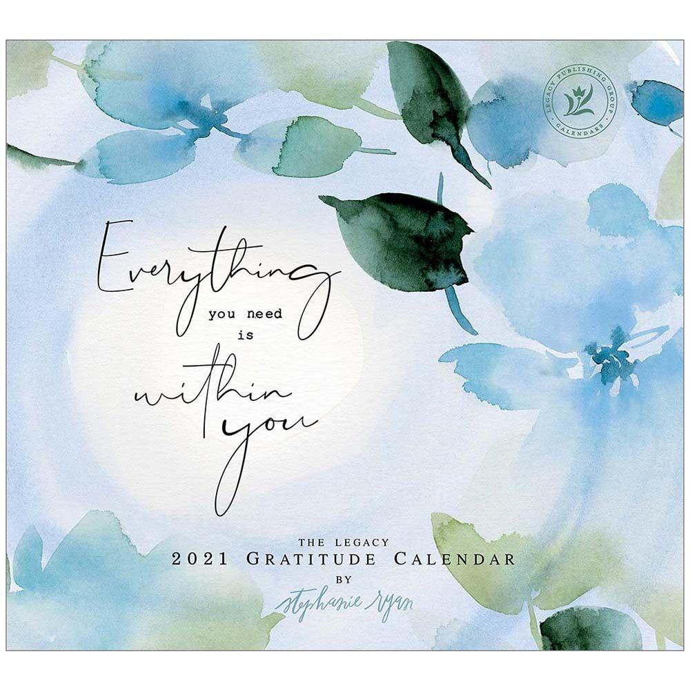 2021 Gratitude Mini Wall Calendar