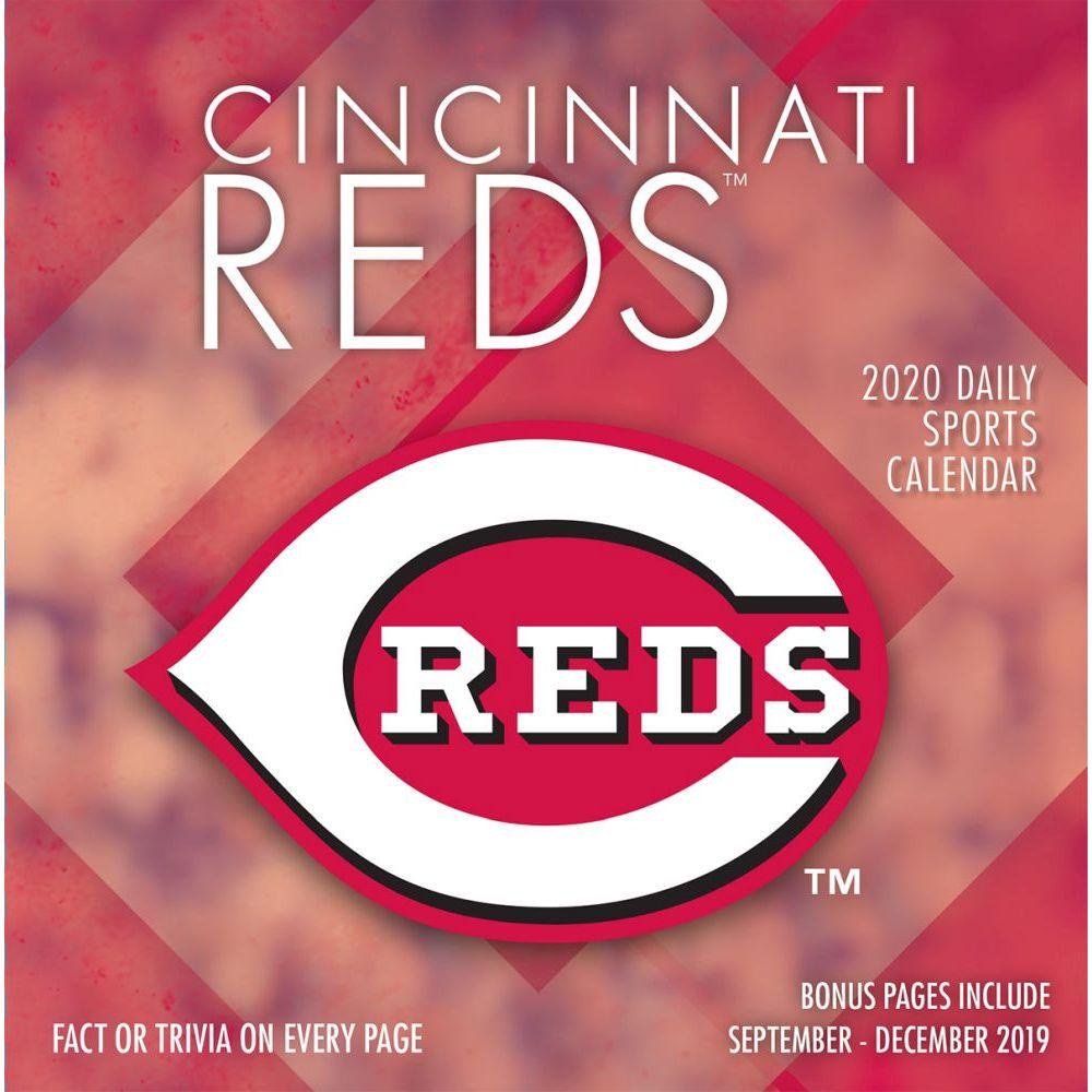 Cincinnati Reds 2021 Desk Calendar