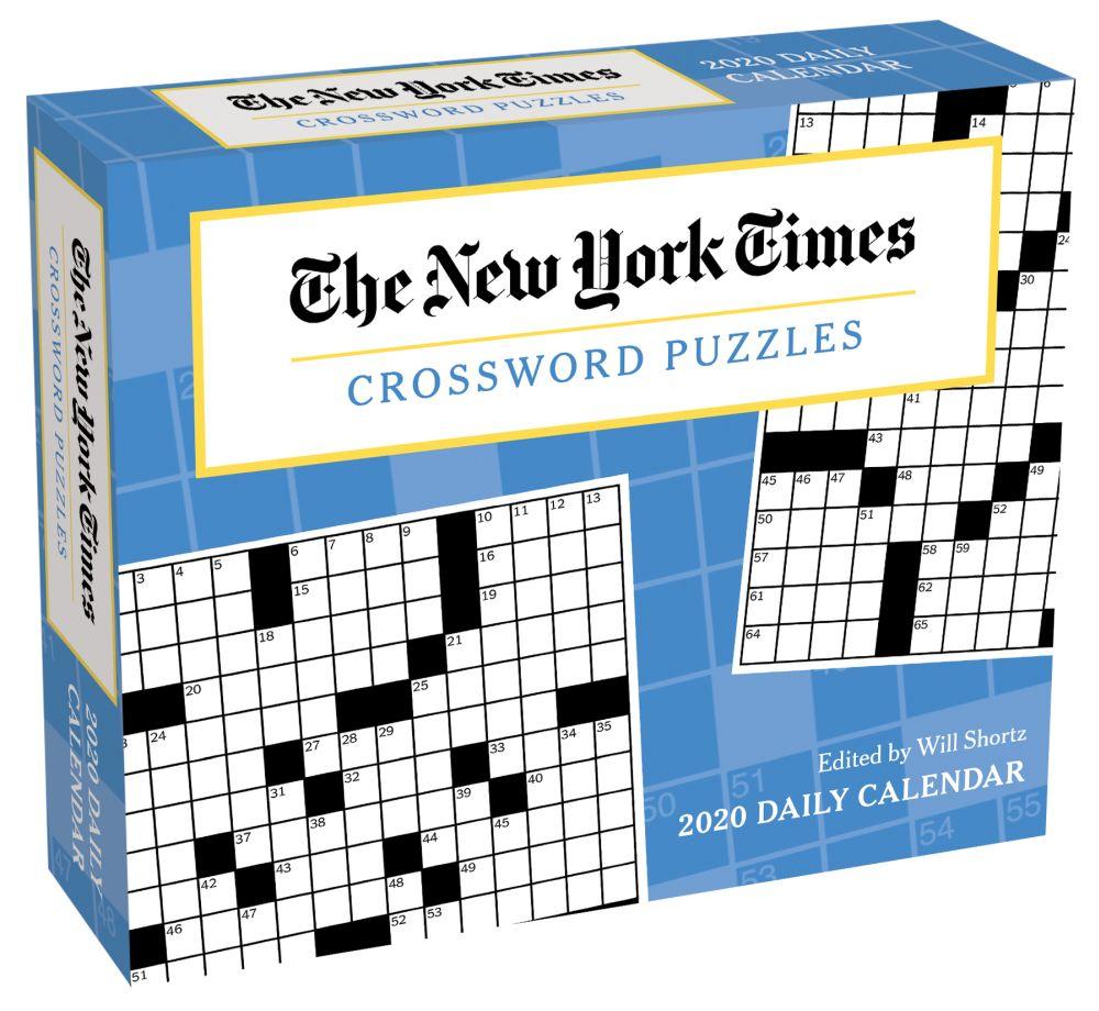 The New York Times Crossword Puzzles 2021 Desk Calendar