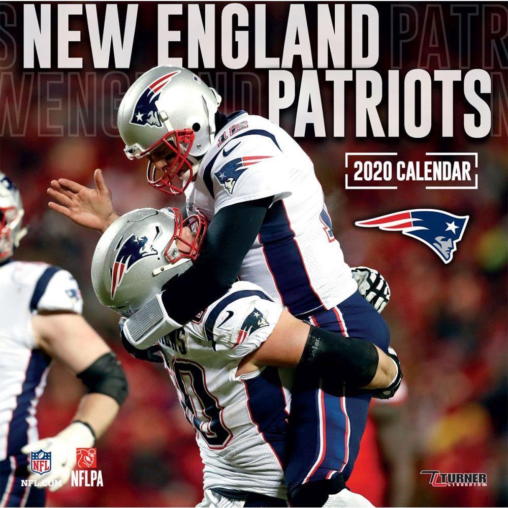 New England Patriots 2022 Wall Calendar