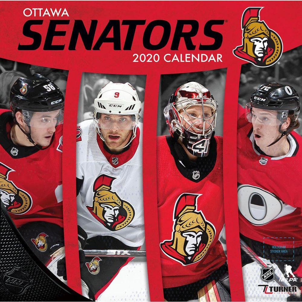 Ottawa Senators 2021 Wall Calendar