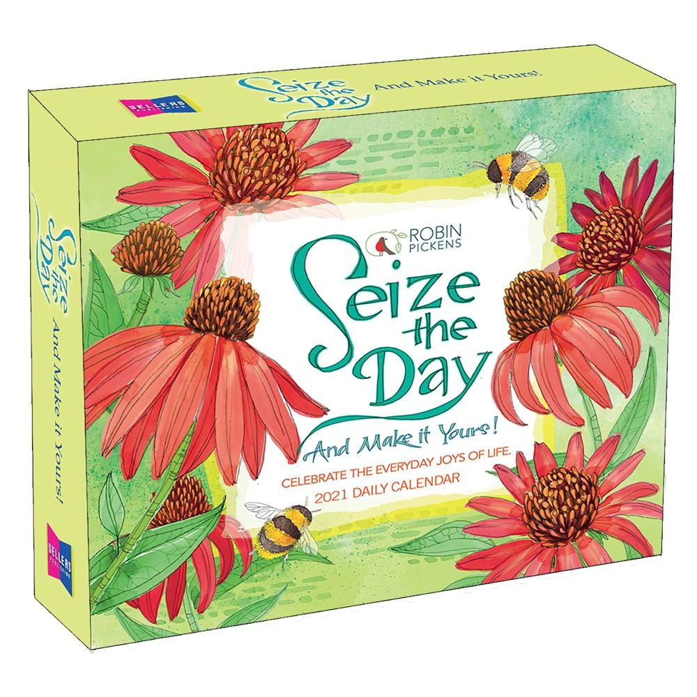 2021 Seize the Day Desk Calendar
