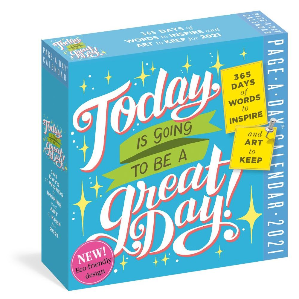 2021 Today is a Great Day Desk Calendar