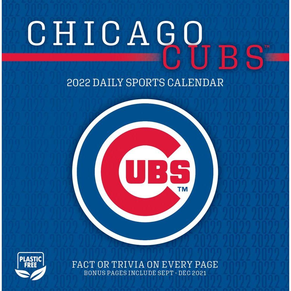 Chicago Cubs 2022 Desk Calendar