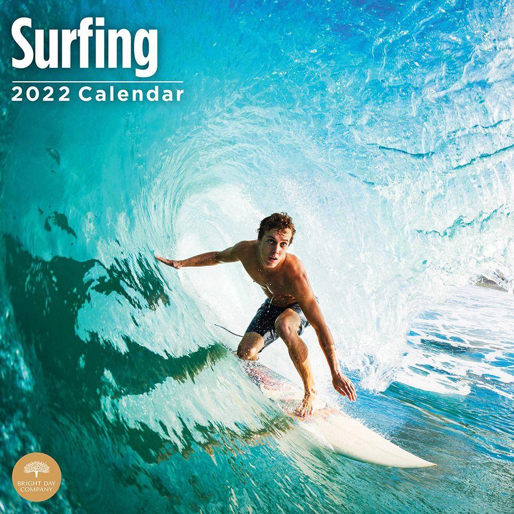 Surfing 2022 Wall Calendar