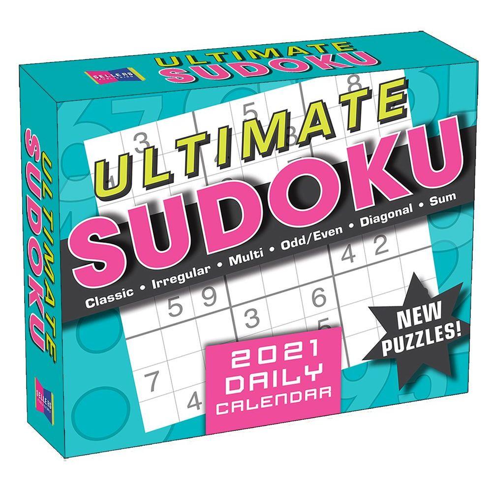 Ultimate Sudoku 2021 Desk Calendar