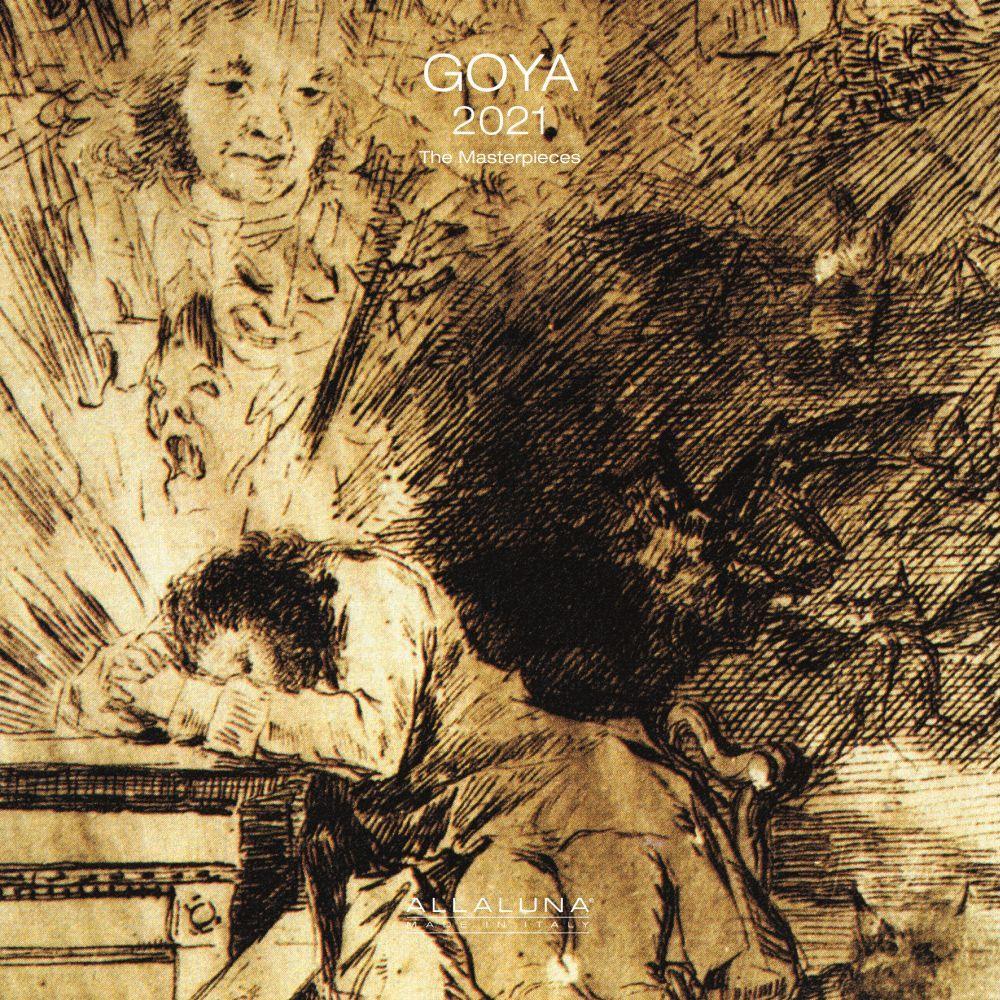 Goya 2021 Wall Calendar