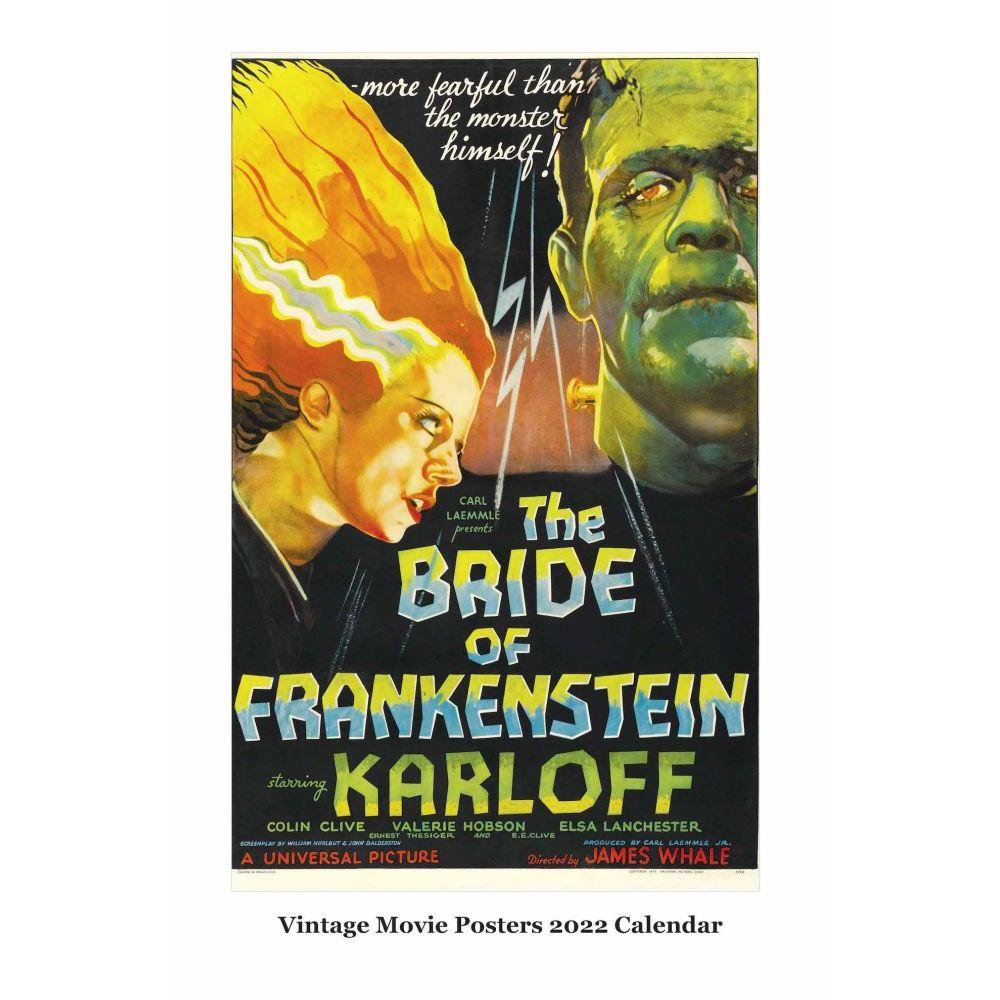 Vintage Movie Posters 2022 Wall Calendar
