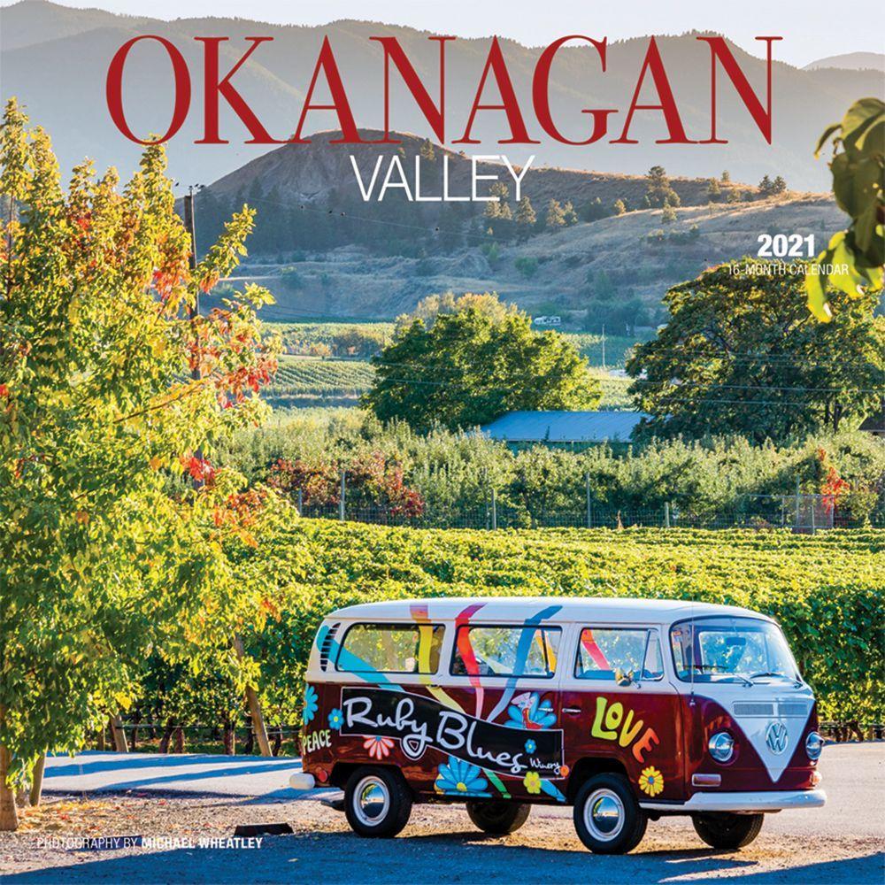 2021 Okanagan Valley Wall Calendar