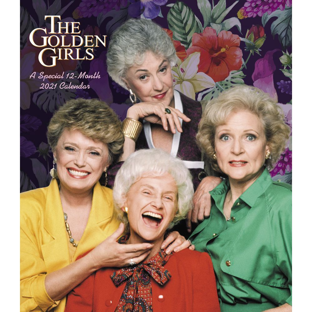 Box Edition Bundle Television Show Gifts, Office Supplies The Golden Girls 2021 Calendar Deluxe 2021 Golden Girls Day-at-a-Time Box Calendar with Over 100 Calendar Stickers