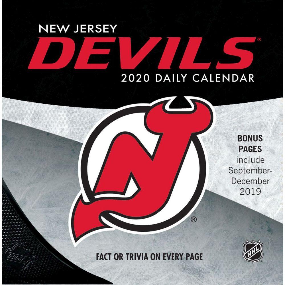 New Jersey Devils 2021 Desk Calendar