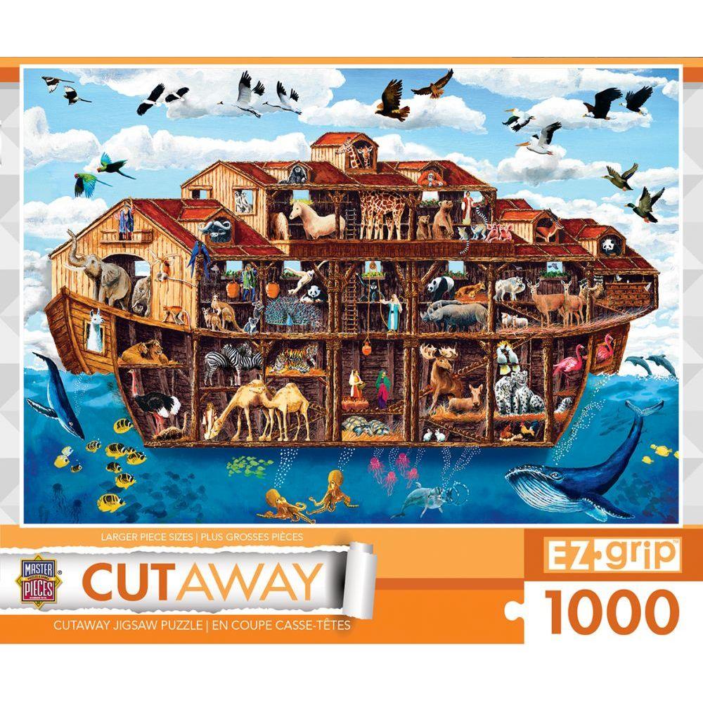 Best Noahs Ark 1000 Piece EZ Grip Cut Away You Can Buy