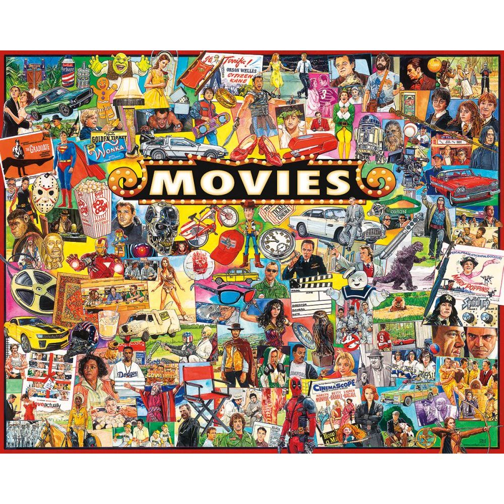 Best Movies 1000pc Puzzle You Can Buy