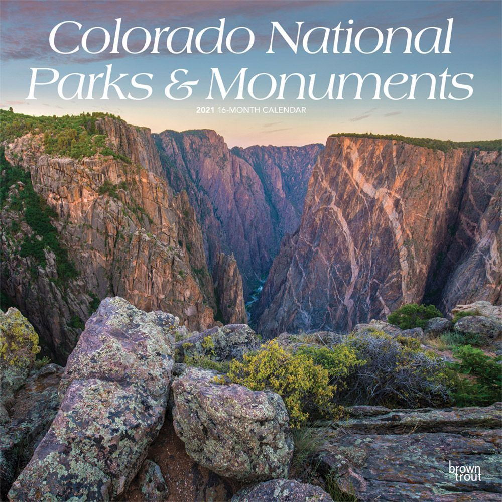 National Parks & Monuments National Geographic 2021 Wall Calendar