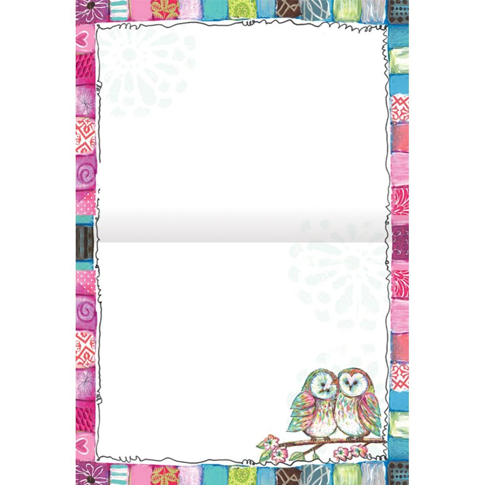 "Owl-Friends-5.25""-x-4""-Blank-Boxed-Note-Cards-2"
