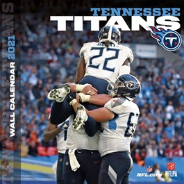 Tennessee Titans Mini Wall Calendar
