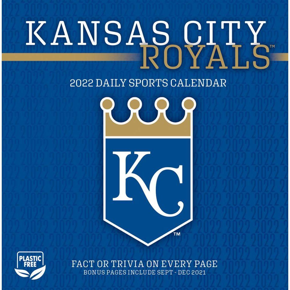 Kansas City Royals 2022 Desk Calendar