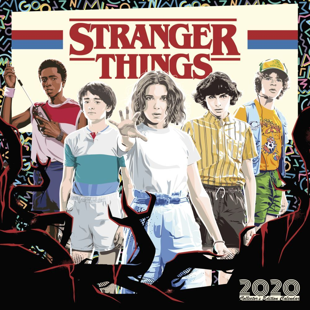 2021 Stranger Thing Collectors Ed Wall Calendar
