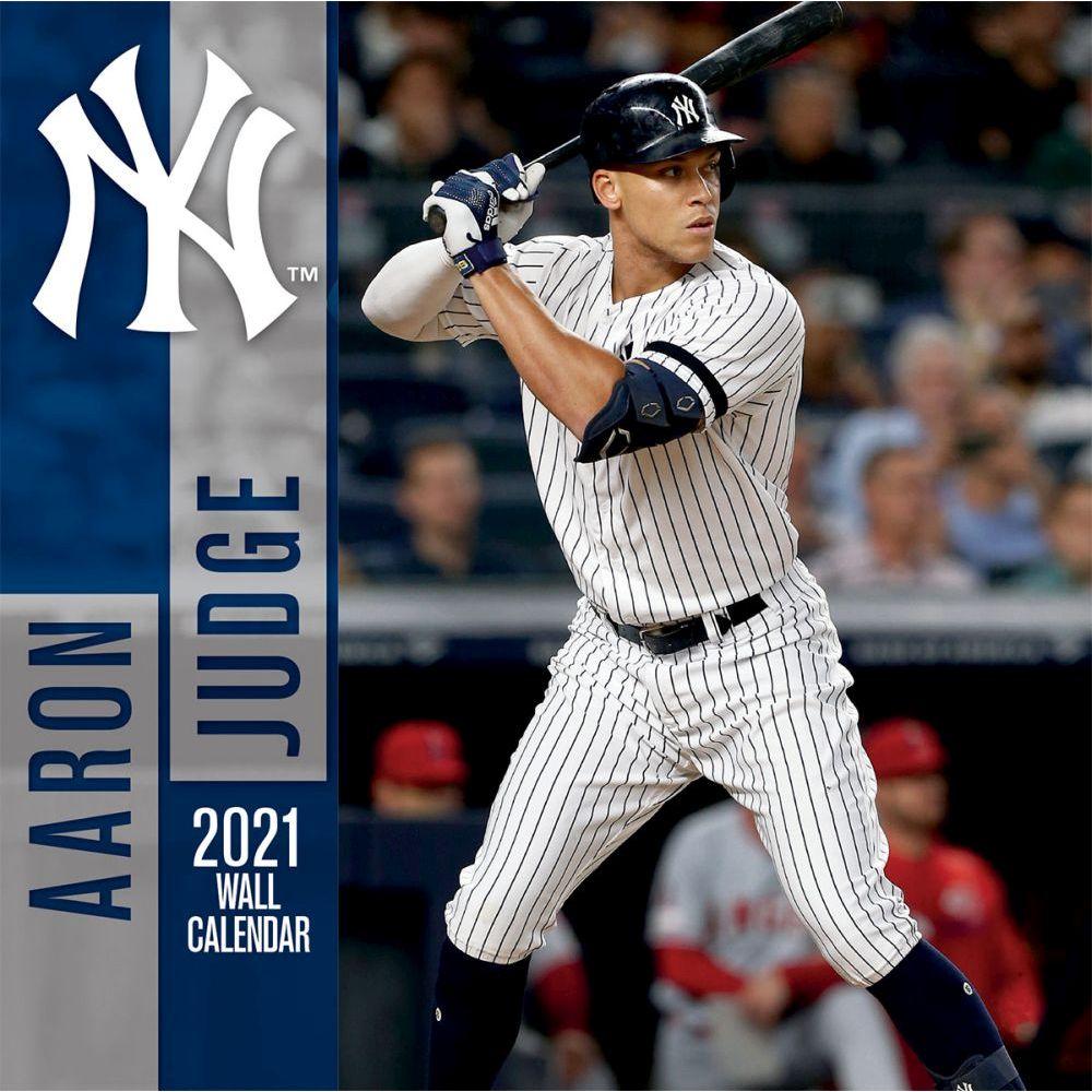 Aaron Judge 2021 Wall Calendar