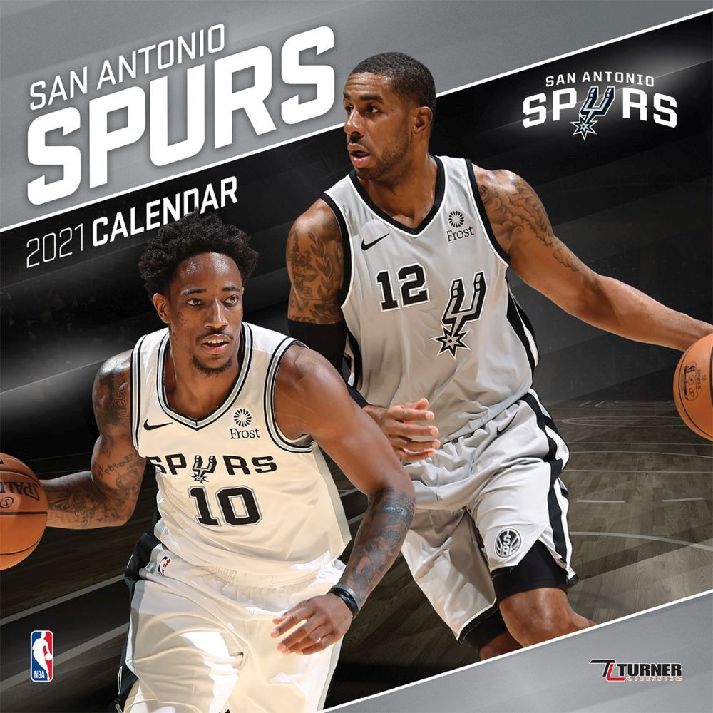 2021 San Antonio Spurs Mini Wall Calendar