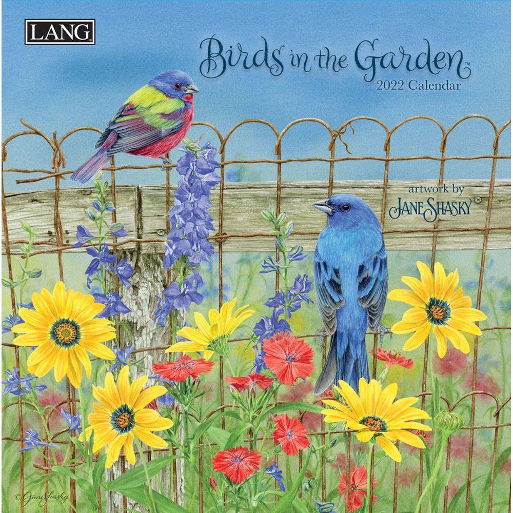 Birds In The Garden 2022 Mini Wall Calendar