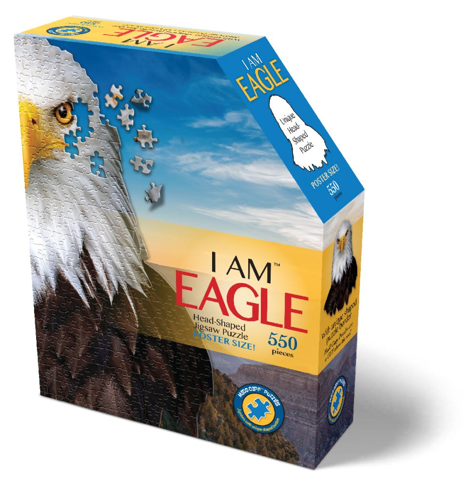 Best I Am Eagle Puzzle 550pc You Can Buy