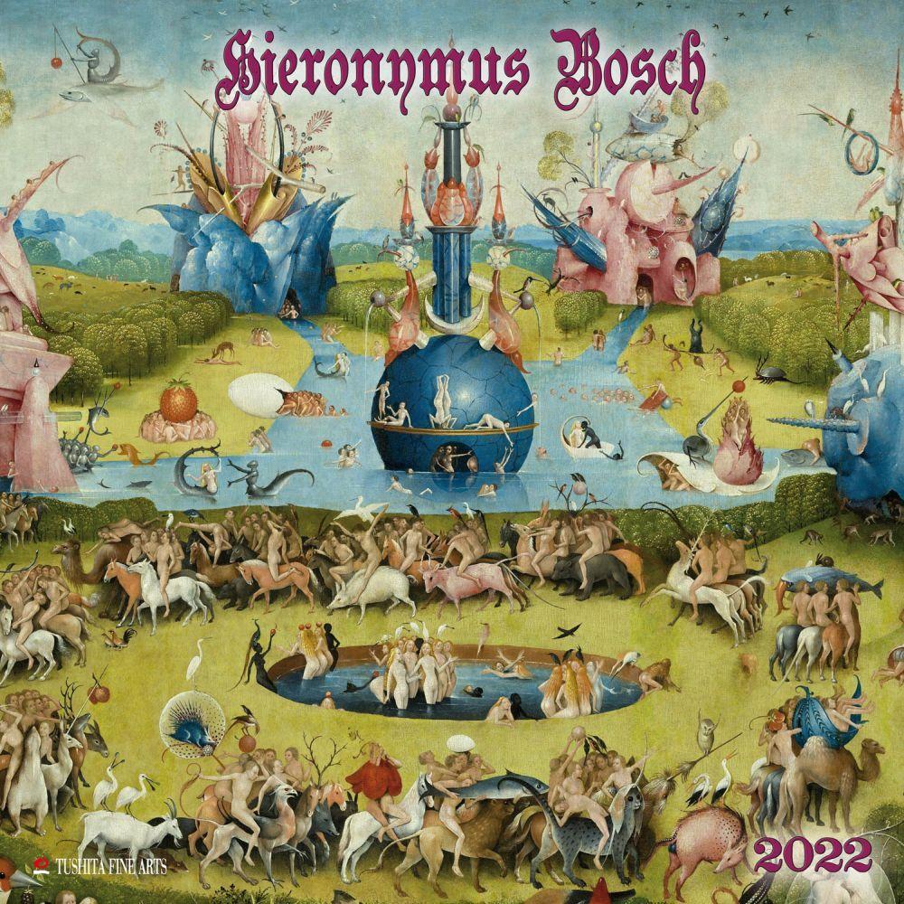 Hieronymus Bosch 2022 Wall Calendar