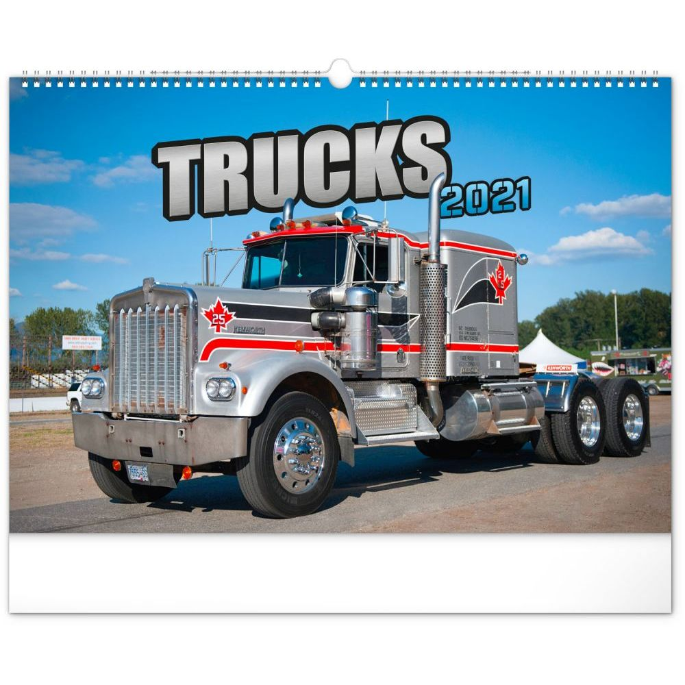 Trucks 2021 Poster Calendar