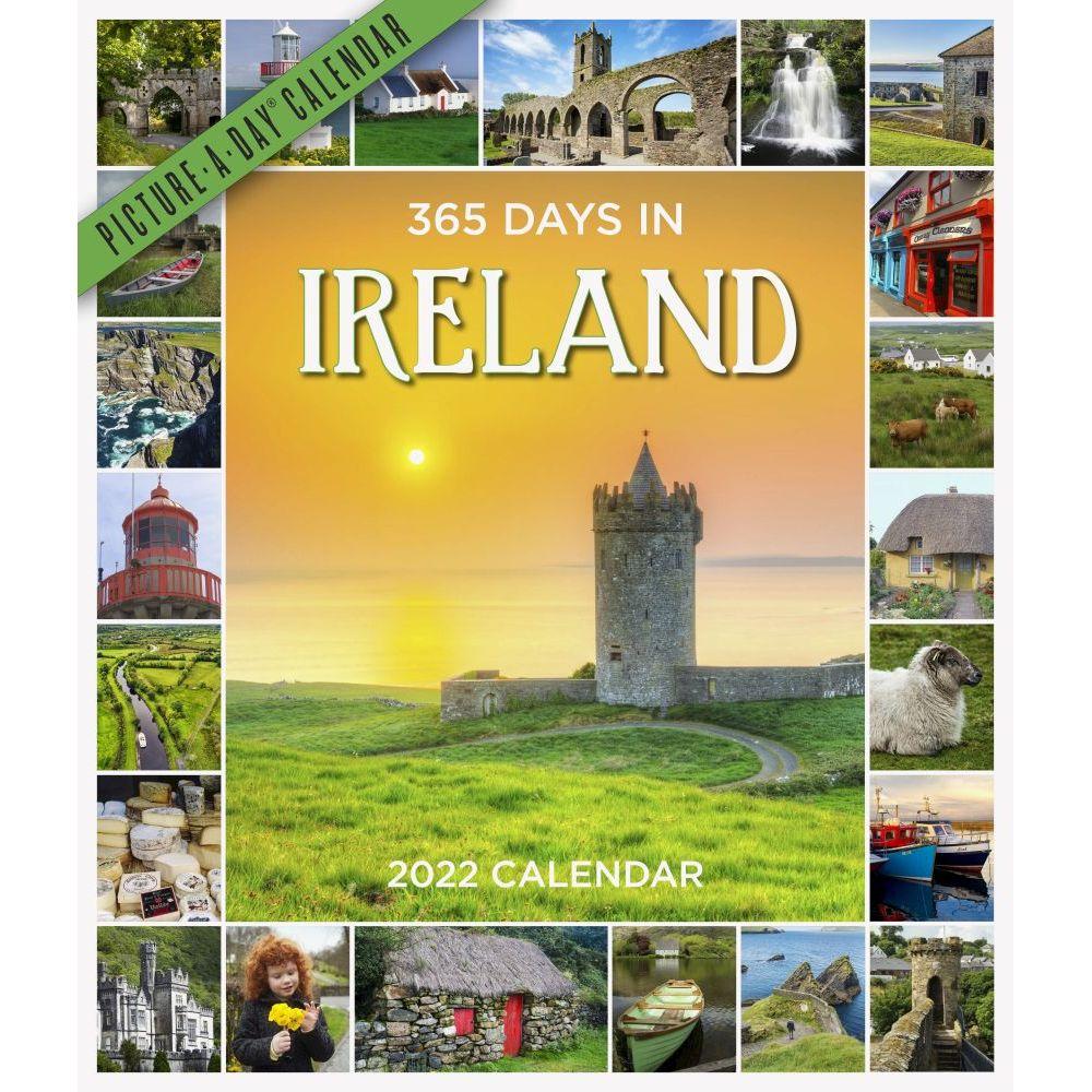 365 Days in Ireland 2022 Wall Calendar