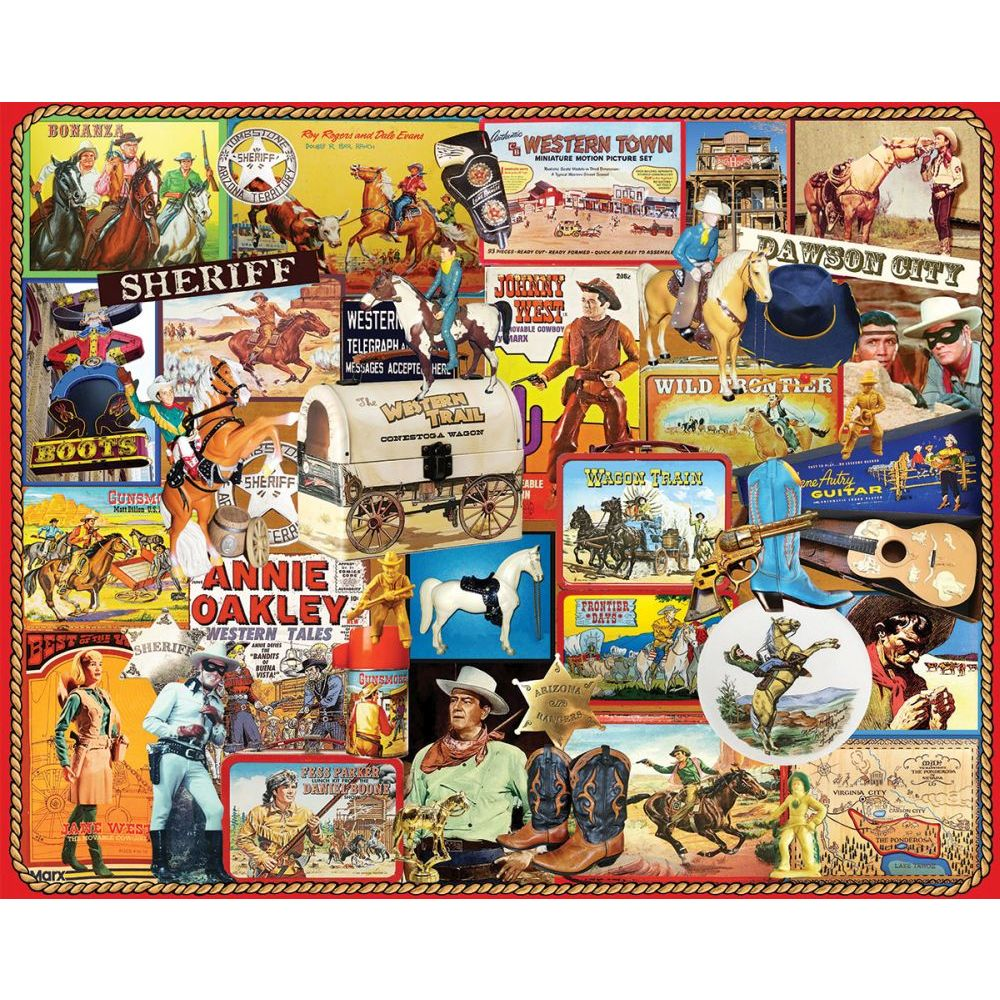 Best Cowboys 1000pc Puzzle You Can Buy