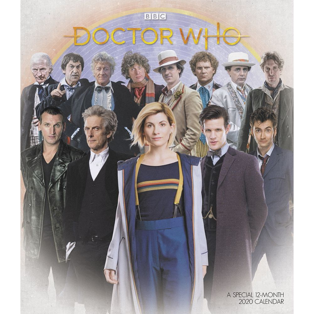 2021 Doctor Who Special Edition Wall Calendar