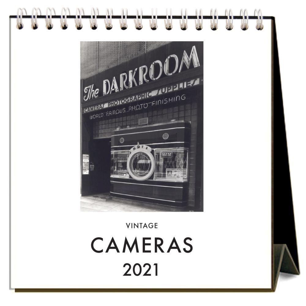 2021 Cameras Easel Calendar