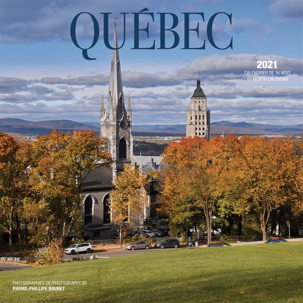 2021 Quebec Wall Calendar