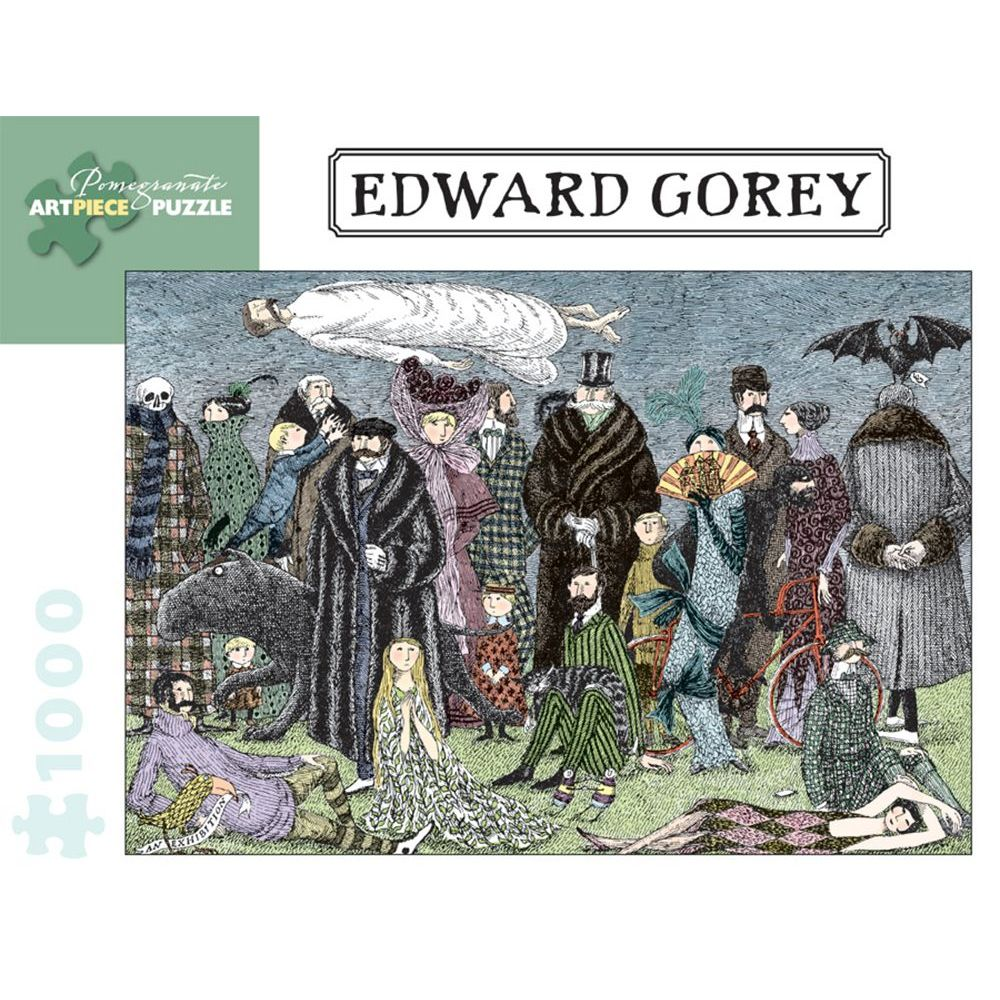 Best Edward Gorey 1000 pc Puzzle You Can Buy