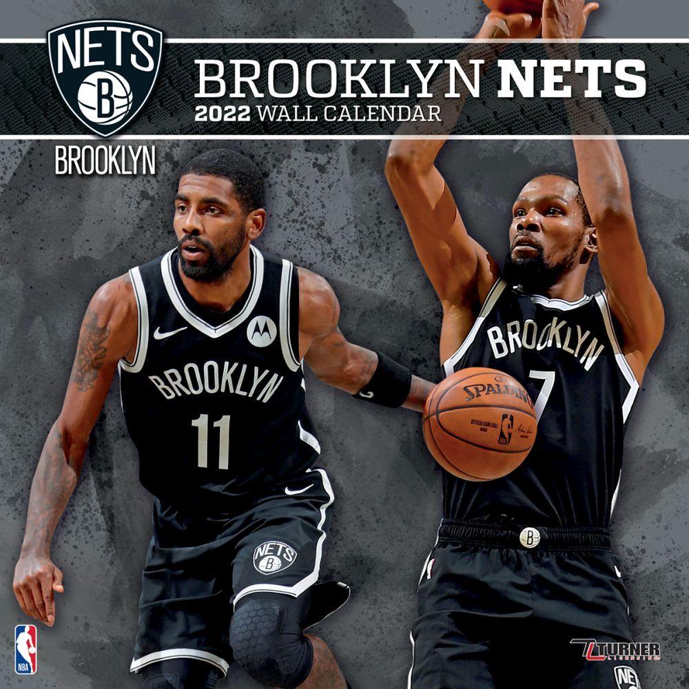 Brooklyn Nets 2022 Wall Calendar