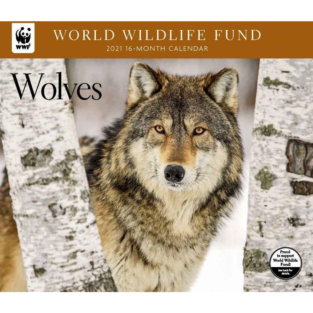 2021 Wolves WWF Wall Calendar