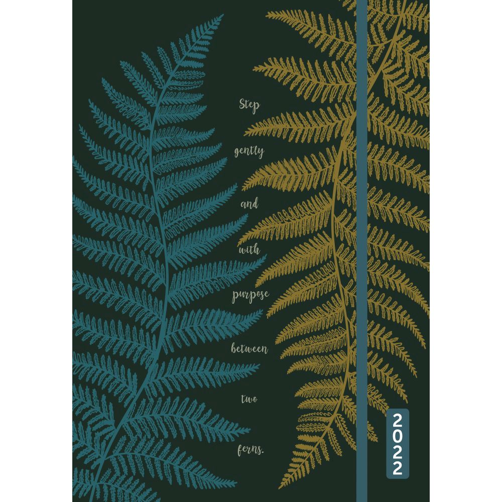 Between Two Ferns 2022 Weekly Planner Flexi Cover