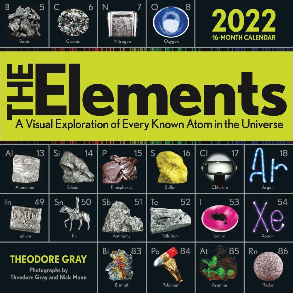 Elements 2022 Wall Calendar