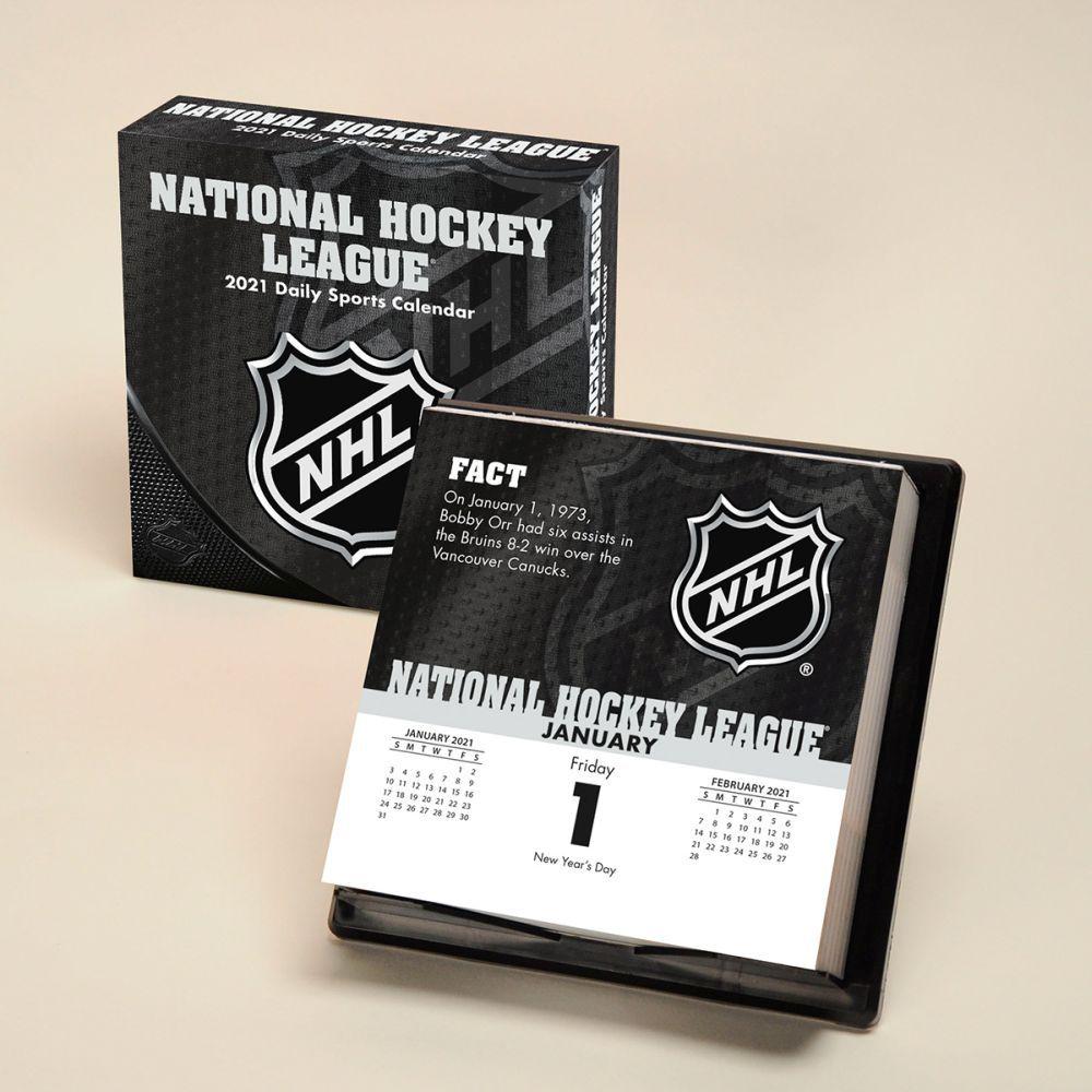 2021 NHL All Team Desk Calendar