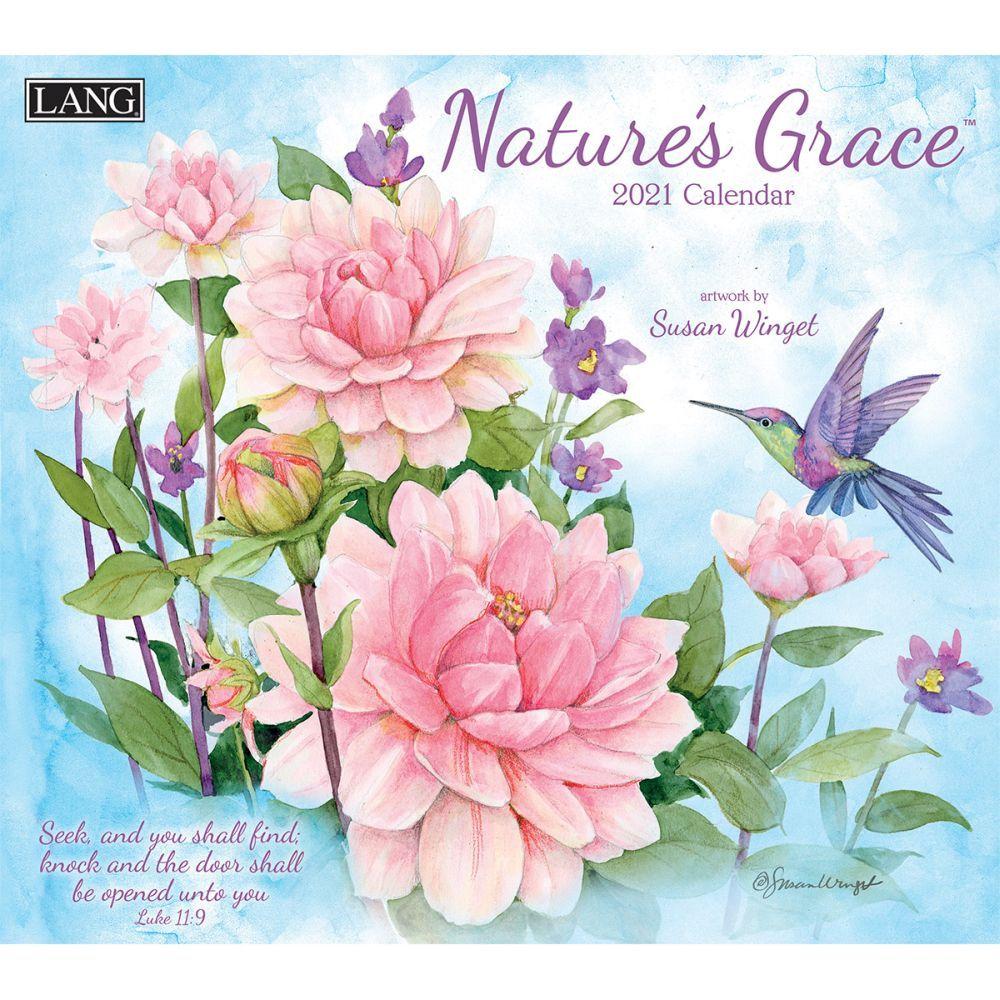 2021 Nature's Grace Wall Calendar by Susan Winget