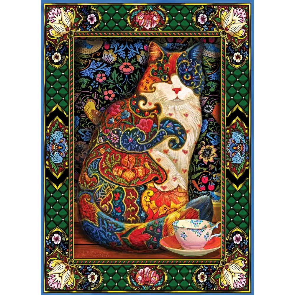 Best Painted Cat 1000pc Puzzle 2 You Can Buy