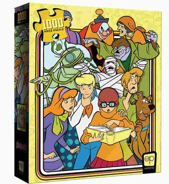 Best Scooby Doo Those Meddling Kids 1000pc Puzzle You Can Buy