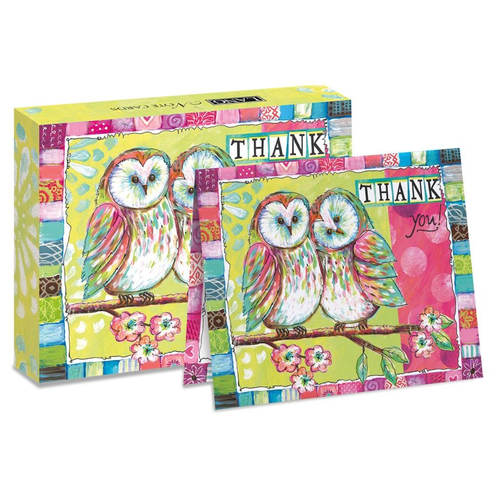 "Owl-Friends-5.25""-x-4""-Blank-Boxed-Note-Cards-4"