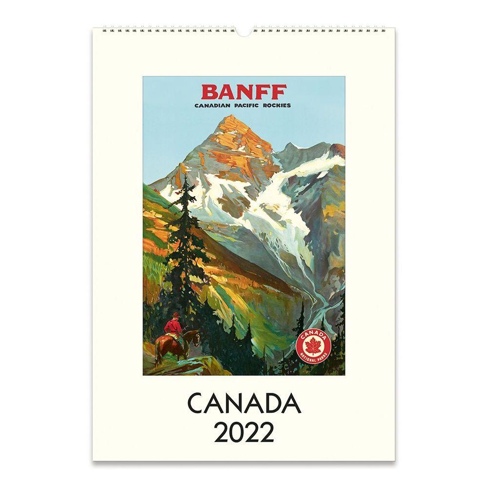 Canada 2022 Poster Wall Calendar