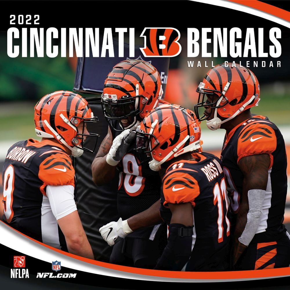 Cincinnati Bengals 2022 Wall Calendar