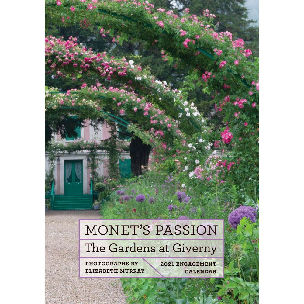 Monet's Passion 2021 Softcover Engagement Calendar