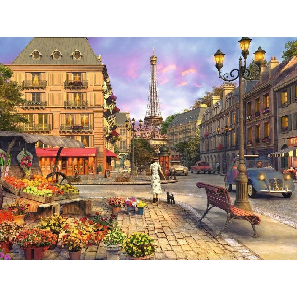 Best Vintage Paris 1500 Piece Puzzle You Can Buy