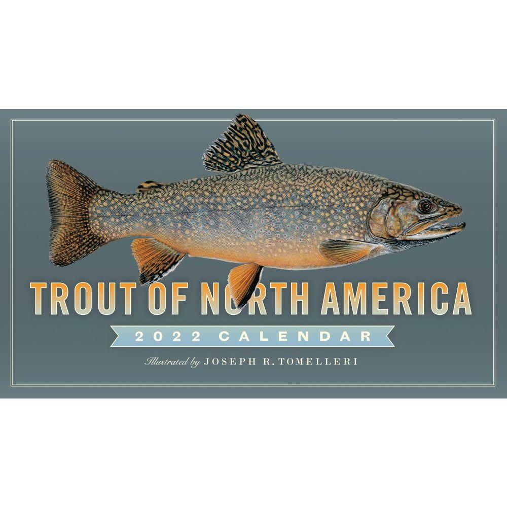 2022 Fishing Calendar 11 X 19 Imprinted Staple Bound Drop Ad Imprint Calendars